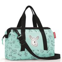 Сумка детская allrounder xs cats and dogs mint, полиэстер, Reisenthel
